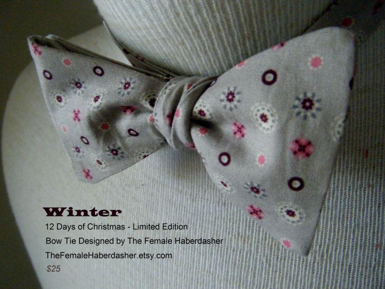 seasonal bow tie