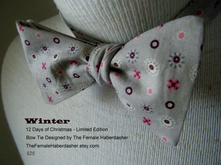 seasonal bow tie
